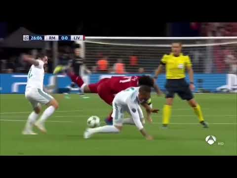Anatomy of this TakeDown: Sergio Ramos INTENTIONALLY BREAKS MOHAMED SALAH'S ARM