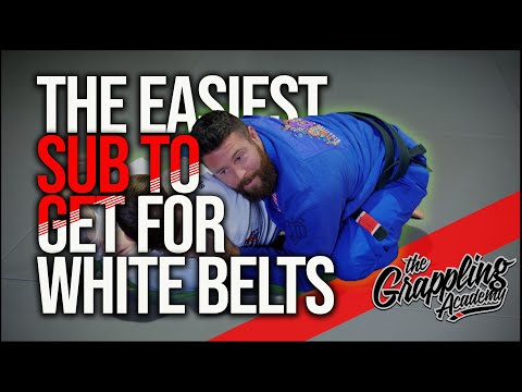 The Easiest Submission To Get For A White Belt!