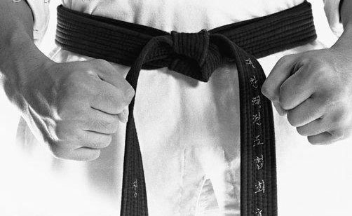 Which black belt takes the longest to get?