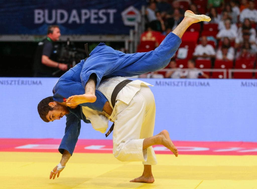 How long does it take to get a black belt in Judo?